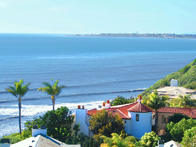 Ocean Front - Santa Barbara, Hope Ranch